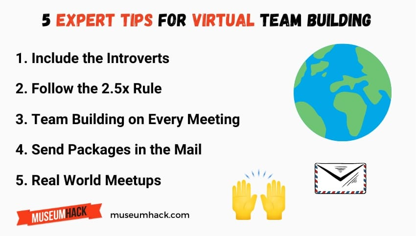 5 virtual team building tips