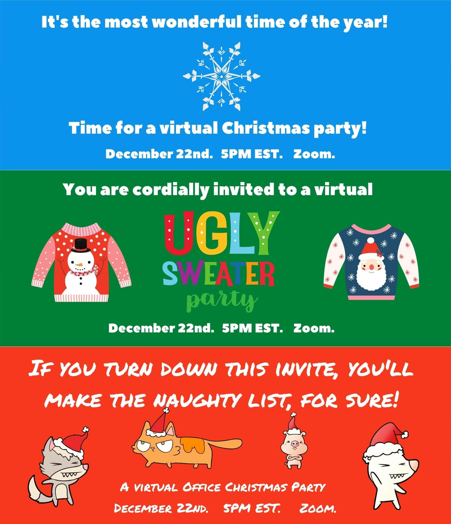 22 Virtual Christmas Party Ideas In 2020 Holidays